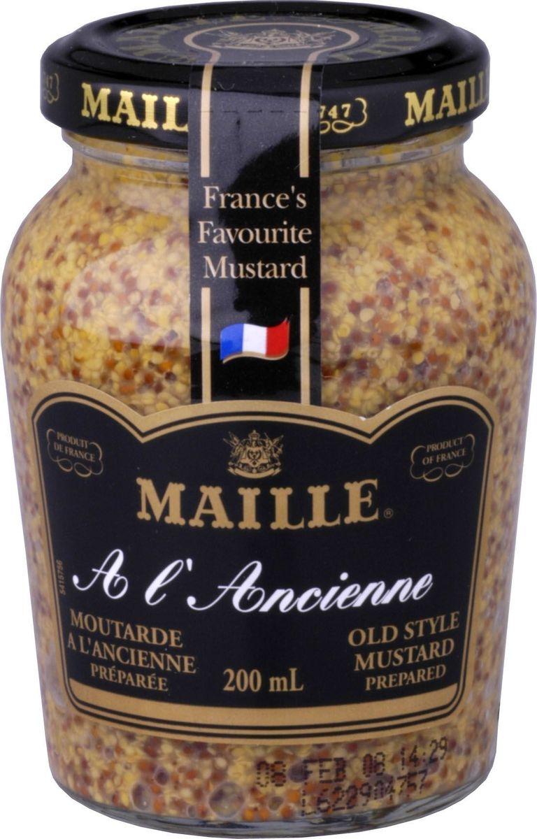 Традиционная зернистая горчица, созданная по старинному французскому рецепту. Подходит для всех типов блюд и для овощных салатов.