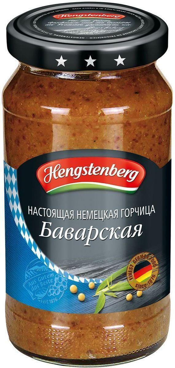 Hengstenberg По-баварски сладкая горчица, 200 мл253147Традиционная немецкая горчица, гармоничная смесь семян горчицы, уксуса и пряностей используется для любых блюд, включая мясо на гриле, холодные закуски и фондю.
