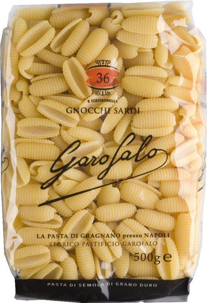 Garofalo Гноччи Сарди клецки рифленые № 36, 500 г259503Клецки рифленые. Используются как гарнир и как основное блюдо, подают обычно с томатными соусами, но подойдет и любой другой.
