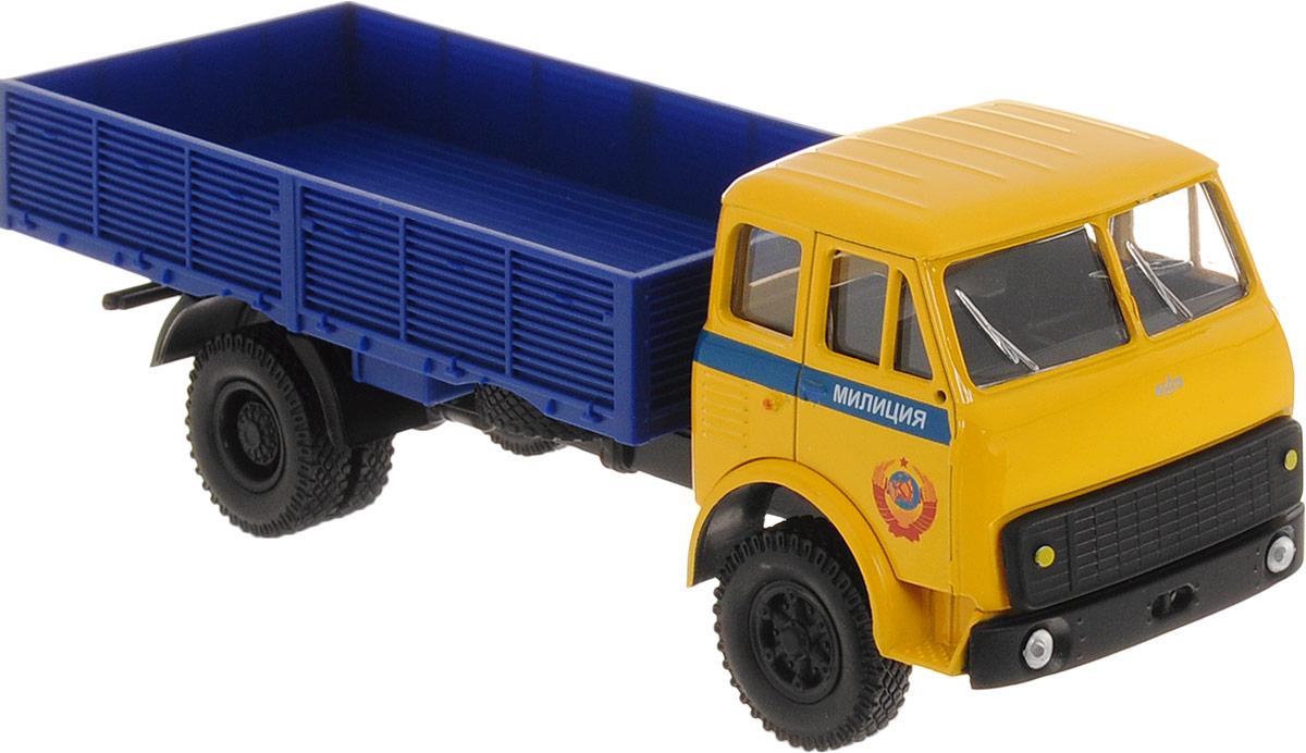 Autotime Модель автомобиля МAZ-5335 цвет желтый синий autotime модель автомобиля мaz 5335 цвет оранжевый