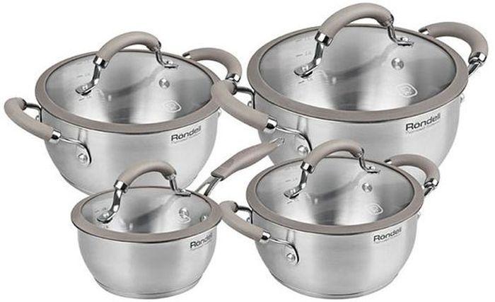 Набор посуды Rondell Balance, 8 предметов. RDS-756RDS-756Набор посуды Rondell 8 предметов Balance