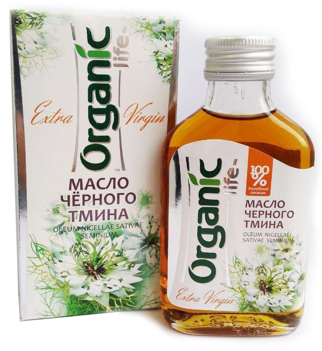 Organic Life масло черного тмина, 100 мл212034Масло черного тмина содержит незаменимые Омега-6 и Омега-9 полиненасыщенные жирные кислоты, витамины Е, А, витамины группы В, микроэлементы и благотворные для дыхательной системы эфирные масла. Уникальный состав делает масло черного тмина натуральным иммуностимулятором, оно обладает выраженным бактерицидным и антисептическим действием. Масло способствует профилактике в период массовых простудных заболеваний, повышает жизненный тонус, снижает уровень холестерина, помогает избавлению от паразитов. Масло черного тмина улучшает обмен веществ, что способствует снижению веса. Способ применения: по 1/2 ч.л. 2 раза в день.