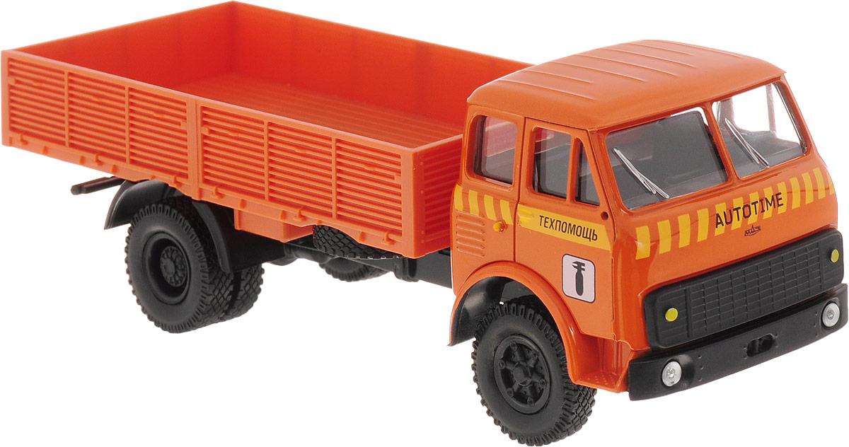 Autotime Модель автомобиля МAZ-5335 цвет оранжевый autotime модель автомобиля мaz 5335 цвет оранжевый