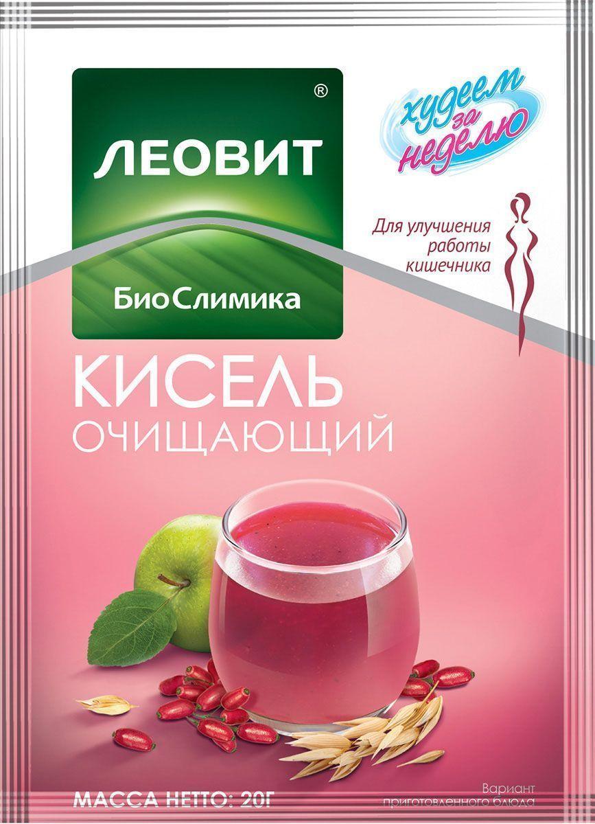 БиоСлимика Кисель очищающий, 20 г121111Кисель очищающий – вкусный и полезный напиток. Приготовлен из ягод и фруктов, а также соков и пюре из них Способствует улучшению моторно-эвакуаторной функции кишечника Удобно взять с собой Готовится за 2 минуты