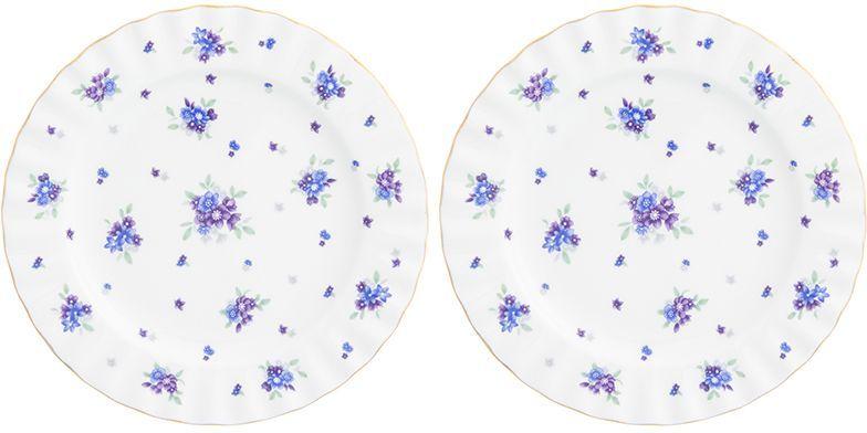 Набор десертных тарелок Elan Gallery Сиреневый туман, 2 предмета740467У Вас намечается торжество и нужно накрыть большой стол - используйте набор тарелок из коллекции Сиреневый туман. Они не займут много места на столе.
