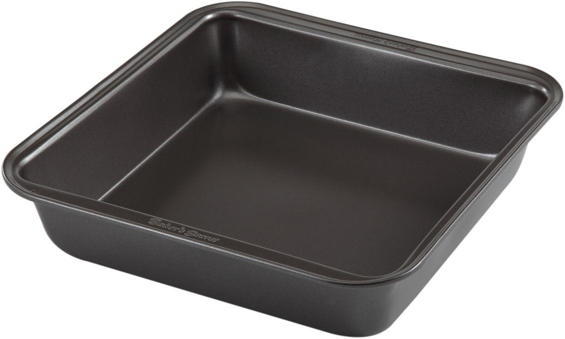 Форма для выпечки Bakers Secret Essentials, 20,3 х 20,3 см, цвет: темно-серый. 11144361114436Коллекция форм для выпечки тортов Bakers Secret из США являются хорошим приобретением любой хозяйки. Данные товары пользуются спросом, поскольку их отличает высокое качество. Формы для запекания Bakers Secret - выполнены из высококачественной стали. Внешнее антипригарное покрытие для удобства ухода и утолщенные стенки гарантируют равномерное пропекание изделия. Стальные формы для запекания стали популярными намного позже чугунных и керамических, и главное их преимущество – это абсолютная химическая нейтральность. Качественная нержавеющая сталь никак не скажется на вкусе готовой пищи и не будет подвержена воздействию кислот и щелочей, содержащихся в моющих средствах. Можно мыть в посудомоечной машине.