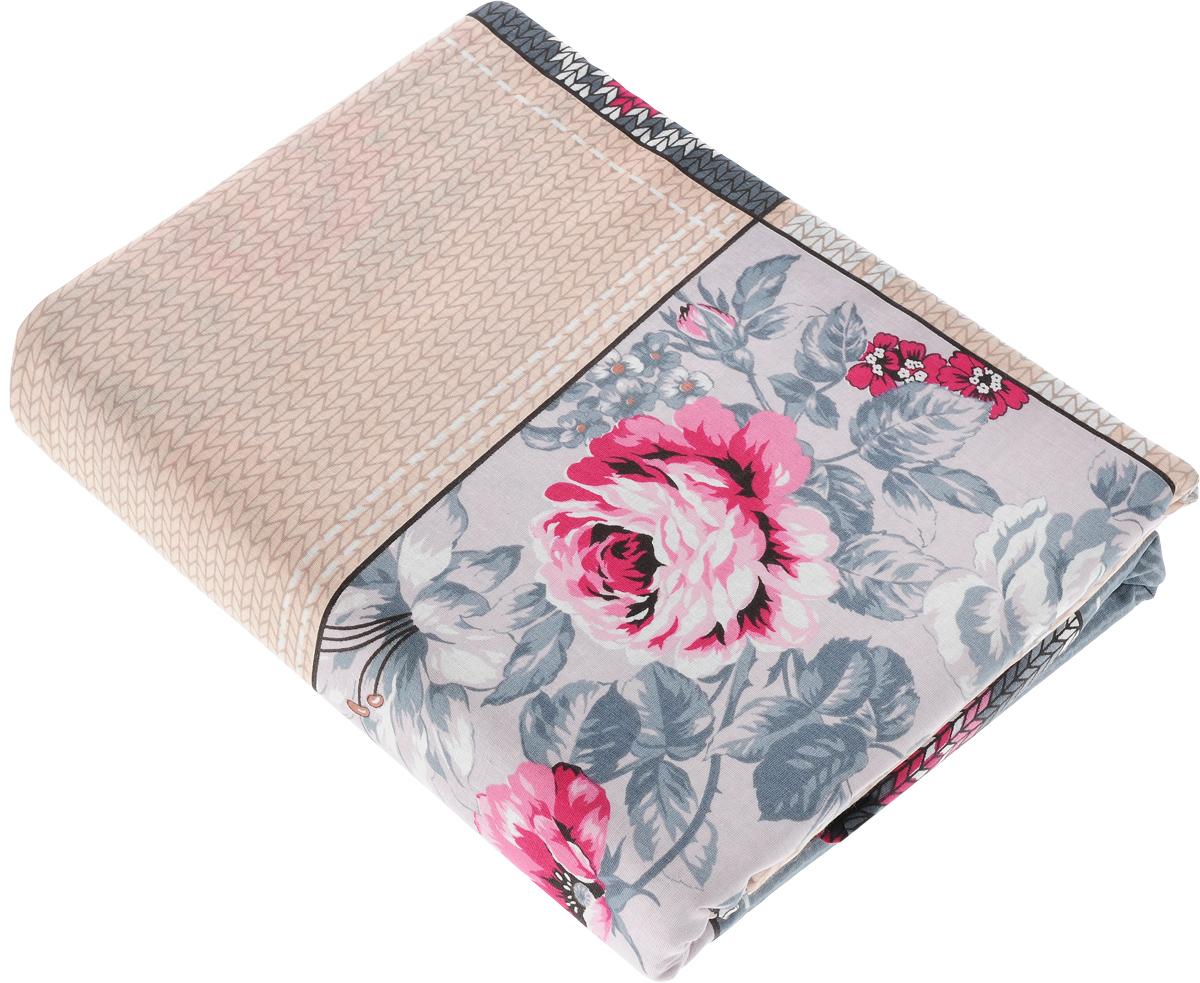 Комплект белья Amore Mio Dady, 2-спальный, наволочки 70x70, цвет: серый, бежевый, розовый83337_серый, бежевый, розовыйКомплект постельного белья Amore Mio Dady выполнен из бязи - 100% хлопка. Комплект состоит из пододеяльника, простыни и двух наволочек. Постельное белье, оформленное оригинальным принтом, имеет изысканный внешний вид и яркую цветовую гамму. Наволочки застегиваются на клапаны. Постельное белье из бязи практично и долговечно. Материал великолепно отводит влагу, отлично пропускает воздух, не капризен в уходе, легко стирается и гладится. Благодаря такому комплекту постельного белья вы сможете создать атмосферу роскоши и романтики в вашей спальне.