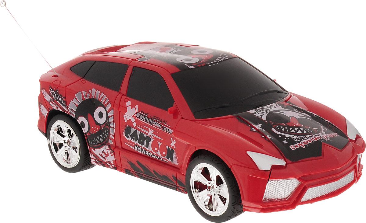 Balbi Машина-трансформер на радиоуправлении цвет красный
