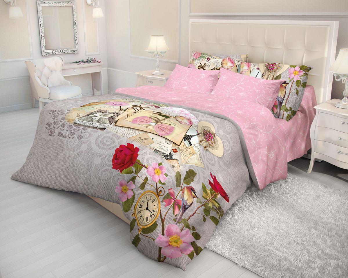 Комплект белья Волшебная ночь Vintage, 2-спальный, наволочки 70х70. 710566710566