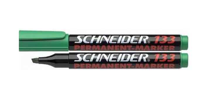 Маркер Permanent 133; 1+4 мм, зеленый.S133/4 S133-01/4