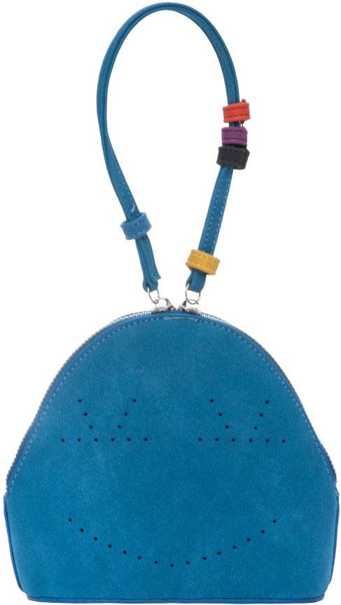 Сумка женская OrsOro, цвет: голубой. D-011/2D-011/2Сумка OrsOro выполнена из высококачественной искусственной кожи и оформлена декоративной перфорацией. Изделие оснащено удобной ручкой. Сумка закрывается с помощью молнии. Внутри расположено одно отделение.