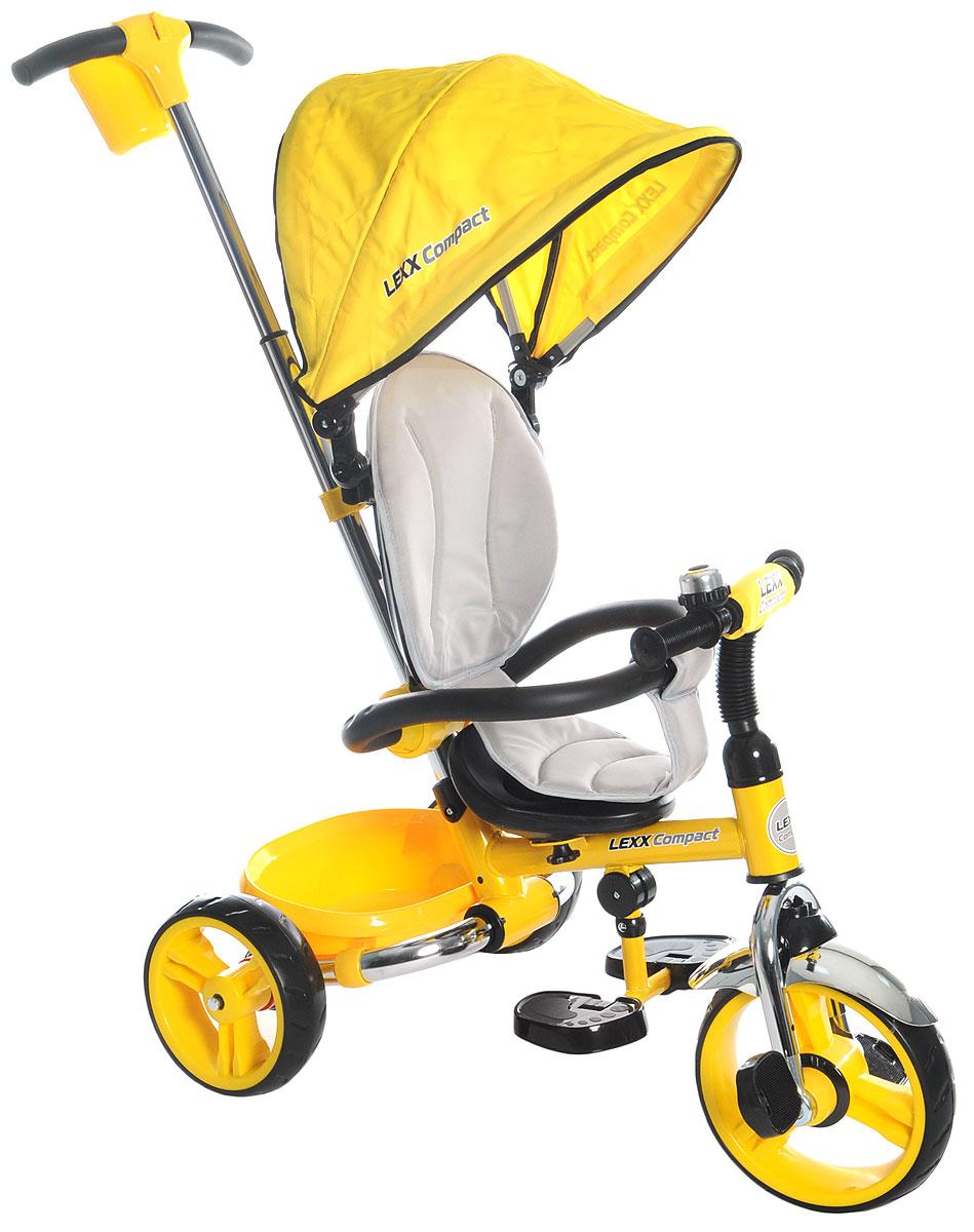 GT Велосипед-каталка GT8761 Lexx Compact цвет желтый