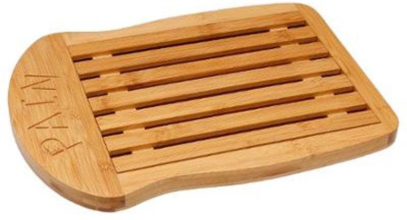 Доска разделочная для хлеба JJA, 34,5 х 26 х 2 см100178Разделочная доска состоит из решетки, на которой непосредственно нарезается хлеб и контейнера, в который падают крошки, что позволит сохранить чистоту и порядок. Изготовлена из бамбука, легко моется водой, не впитывает запахи и на ней почти не остаются царапины от ножа. Благодаря своему изысканному дизайну станет прекрасным дополнением интерьера Вашей кухни.