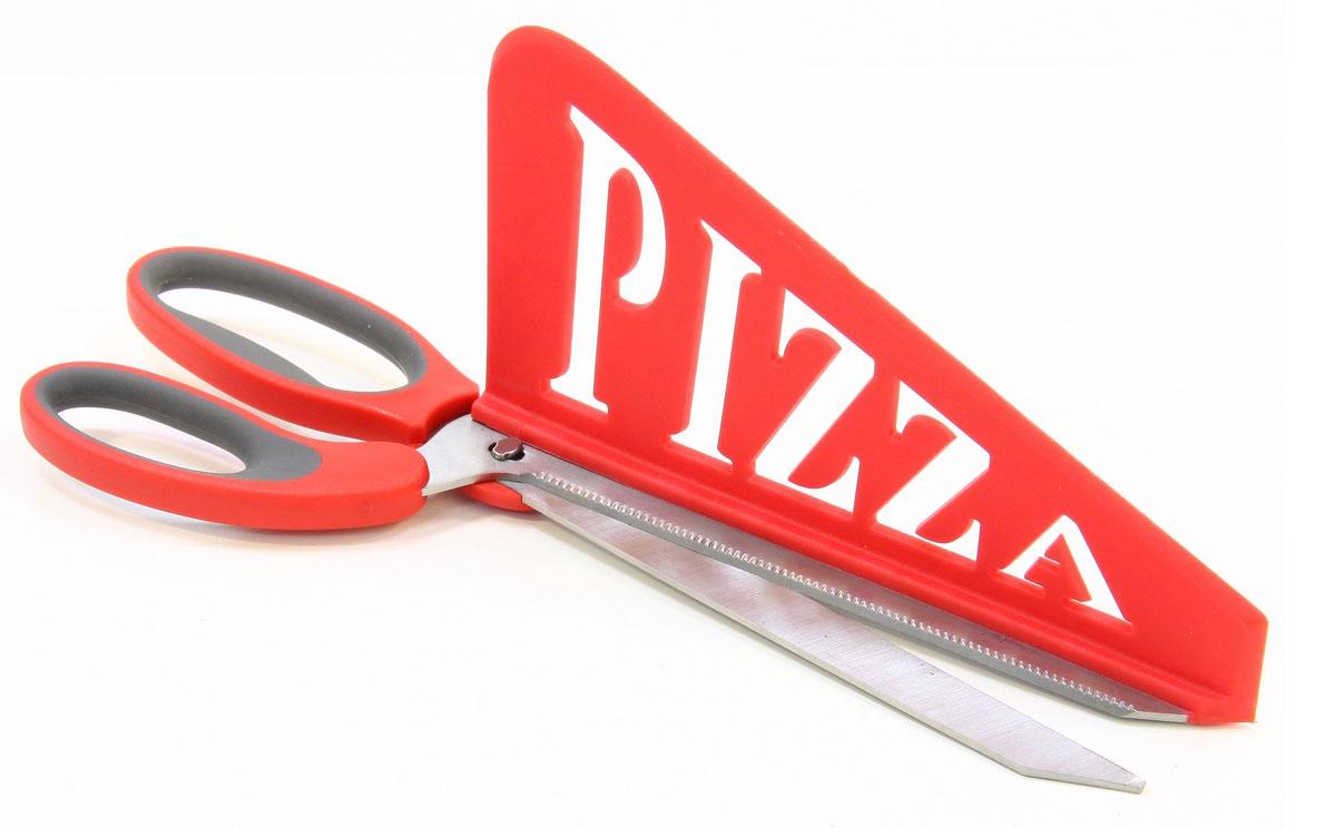 Ножницы кухонные для пиццы JJA, цвет: красный, 33 х 12,5 х 8,5 см109023AОригинальные, стильные, невероятно удобные ножницы для пиццы. Совмещаю в себе ножницы с длиной режущего лезвия 18 см и лопаточку для подачи . Помогут нарезать ровные кусочки, и разложить по тарелкам этот вкусный продукт.