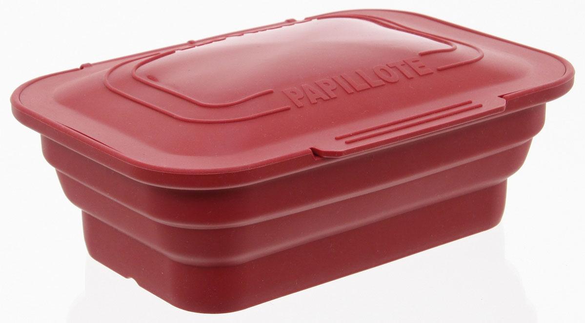 Форма для запекания и хранения продуктов JJA, прямоугольная, силиконовая, цвет: красный, 23 х 17х 9 см109083AНабор блюд, которые можно приготовить в этой силиконовой форме с крышкой, практически безграничен. Она позволяет готовиться пище, как в собственном соку, так и с добавлением масла, сохраняя все ароматы ингредиентов. Готовое блюдо не прилипает к стенкам и легко вынимается. Форму можно использовать в духовке и в микроволновой печи, а также ставить в холодильник. Складываясь, она практически не занимает место при хранении. Этот аксессуар просто необходим сторонникам здорового питания, станет полезным, удобным и функциональным дополниением к Вашей кухонной утвари.