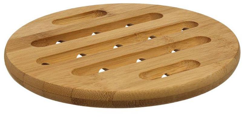 Подставка под горячее JJA, 18 х 18 х 1,5 см111536Это один из самых необходимых аксессуаров для любой хозяйки. Изготовлена из бамбука, легко моется водой, не впитывает запахи, выдерживает высокие температуры, надёжно защитит поверхности Ваших столов. Благодаря оригинальному дизайну станет прекрасным дополнением интерьера Вашей кухни.