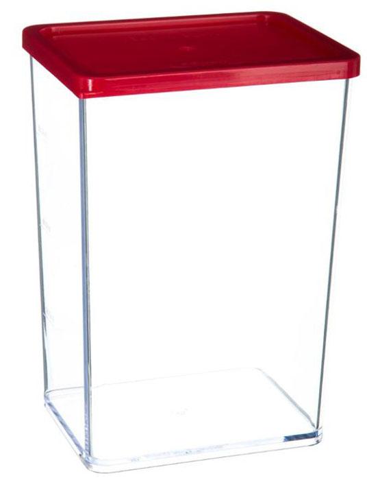 Банка для хранения сыпучих продуктов JJA, 10,2 х 8 х 14,6 см146414Этот контейнер изготовлен из высококачественного прозрачного пластика, снабжен герметично закрывающейся силиконовой крышкой и необыкновенно удобен в использовании. Благодаря специальной форме крышки и днища, банки этого типа, плотно вставляются друг в друга, и из них можно составлять устойчивые конструкции, контейнеры в которых не рассыпаются даже при переворачивании, что позволит максимально использовать пространство Ваших кухонных шкафов. Благодаря своему стильному внешнему виду, они станут прекрасным дополнением к дизайну Вашей кухни.