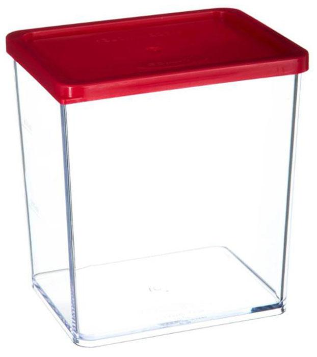 Банка для хранения сыпучих продуктов JJA, 10,2 х 8 х 11 см146415Этот контейнер изготовлен из высококачественного прозрачного пластика, снабжен герметично закрывающейся силиконовой крышкой и необыкновенно удобен в использовании. Благодаря специальной форме крышки и днища, банки этого типа, плотно вставляются друг в друга, и из них можно составлять устойчивые конструкции, контейнеры в которых не рассыпаются даже при переворачивании, что позволит максимально использовать пространство Ваших кухонных шкафов. Благодаря своему стильному внешнему виду, они станут прекрасным дополнением к дизайну Вашей кухни.