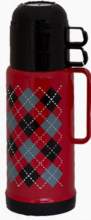 Термос Attribute Tartan, c двумя чашками, 1 лAVF501
