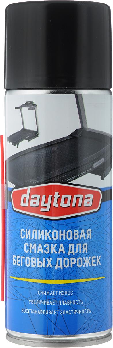 Смазка для беговых дорожек Daytona, силиконовая, аэрозоль, 520 мл2010186Силиконовая смазка для беговых дорожек Daytona необходима для снижения нагрузки на электромотор и более плавного движения полотна. Смазывать беговую дорожку необходимо один раз в квартал или при пробеге 150-200 км. Это позволит уменьшить износ беговой дорожки и увеличит срок ее эксплуатации. В зависимости от использования периодичность смазывания может измениться. Состав: смесь силиконов, отдушка, пропеллент. Товар сертифицирован.