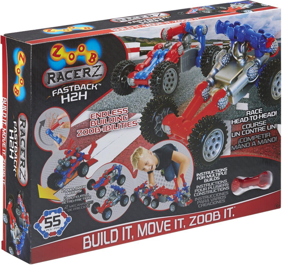 Zoob Racer Z Конструктор Fastback H2H