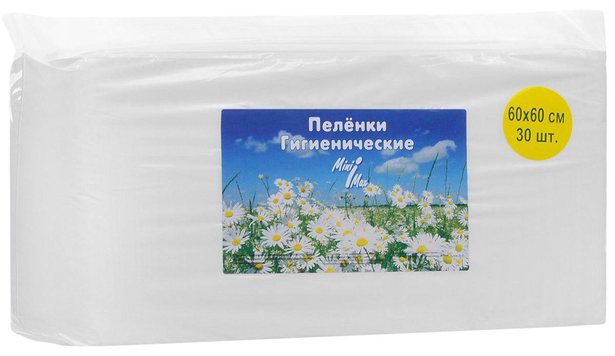 MiniMax Гигиенические пеленки универсальные 60 x 60 см 30 шт 88013