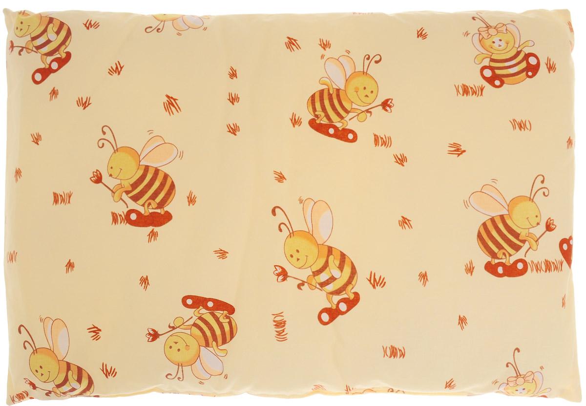 Сонный гномик Подушка детская Пчелы 60 х 40 см