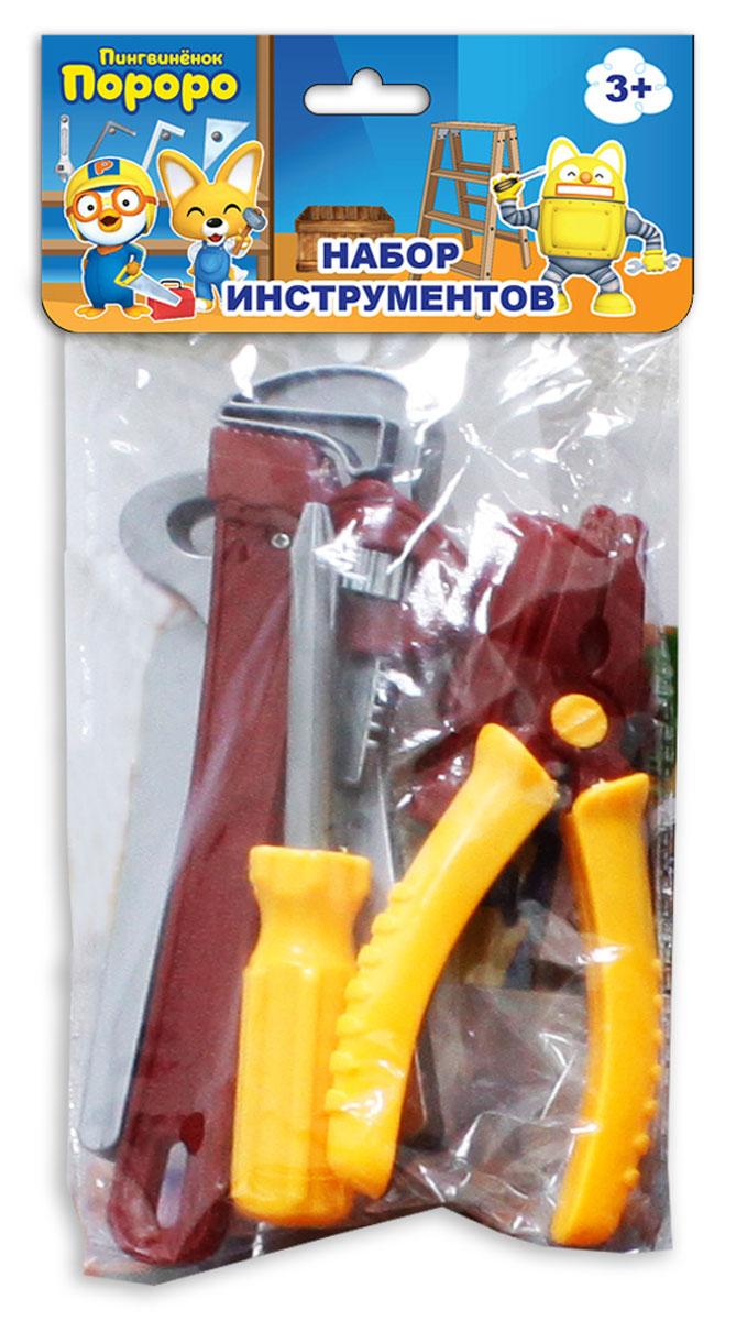 1TOY Игровой набор инструментов Пингвиненок Пороро 5 предметов Т58822