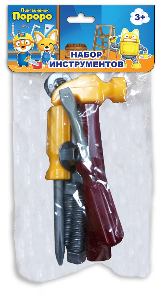 1TOY Игровой набор инструментов Пингвиненок Пороро 7 предметов