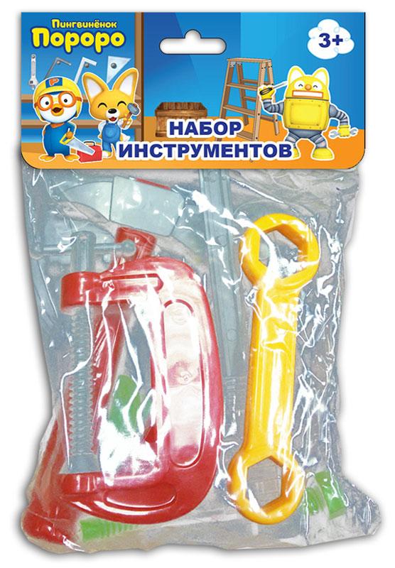 1TOY Игровой набор инструментов Пингвиненок Пороро 9 предметов