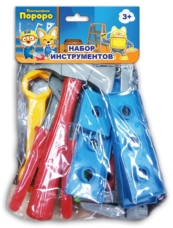 1TOY Игровой набор инструментов Пингвиненок Пороро 13 предметов