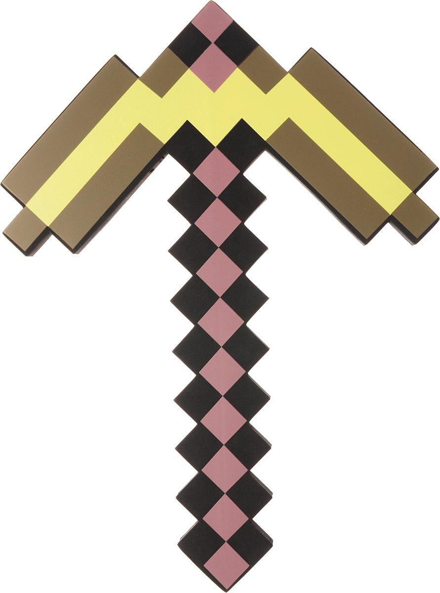 Minecraft Кирка золотая пиксельная