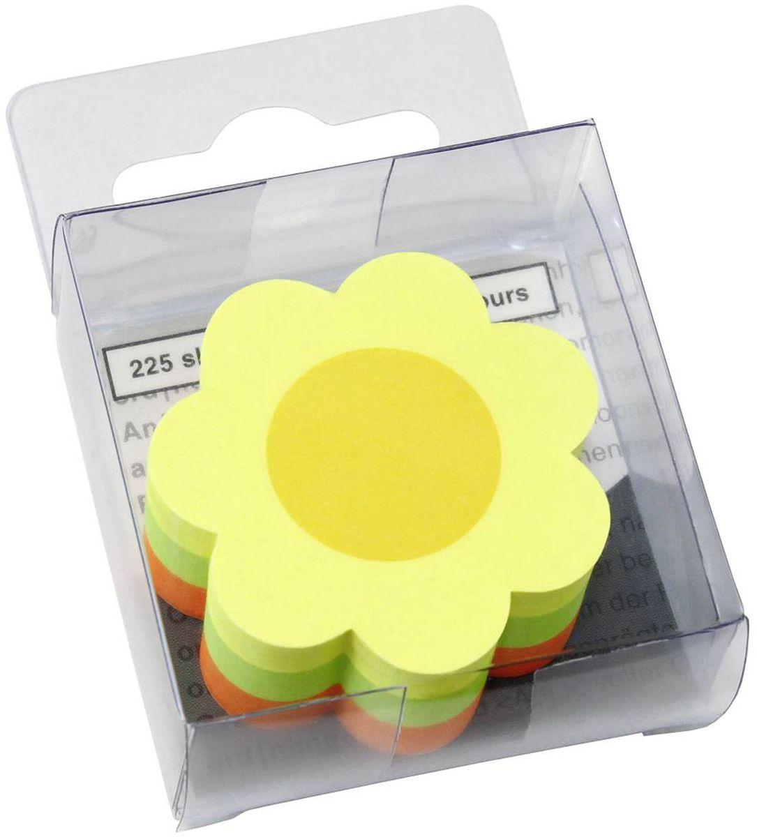 Global Notes Бумага для заметок с липким слоем Цветок 225 листов584239Не только удобна, но и интересна, позволяет привлечь внимание к нужной информации. Размер 50х50 мм. В блоке 225 листов. ЦВЕТОК. В блистерной коробке Плотность бумаги 70гр/м2