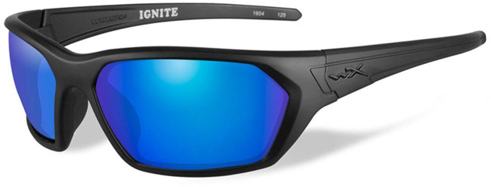 Очки солнцезащитные WileyX Ignite Polarized, для охоты, рыбалки и активного отдыха, цвет: Blue Mirror, GreenACIGN09Стильные очки в матовой черной оправе с великолепными поляризованными зеркальными зелено-голубыми линзами - эта комбинация отлично подходит для любого вида активного отдыха. Установленные линзы поглощают отражения на зеркальных поверхностях, уменьшают блики и идеально подходят для ярких дней. Линзы Wiley X, изготовленые из безосколочного поликарбоната со специальной устойчивостью к царапинам, обеспечивают 100% УФ-защиту. ПОЛЯРИЗАЦИОННЫЙ ФИЛЬТР 8ТМ Запатентованная WileyX технология поляризации линз обеспечивает 100% поляризацию и 100% защиту от ультрафиолетовых лучей для непревзойденной четкости и контрастности изображения. ЗАЩИТА ОТ УДАРОВ НА ВЫСОКОЙ СКОРОСТИ Оправа и линзы должны выдерживать удар тяжелого снаряда весом 500 гр, падающего с высоты 127 см ПРОЧНОЕ ПОКРЫТИЕ Устойчивое к царапинам покрытие защищает линзы от механических повреждений и продлевает срок их службы. АНТИБЛИКОВОЕ ПОКРЫТИЕ Антибликовое покрытие устраняет нежелательные отражения с поверхностей линз. ...