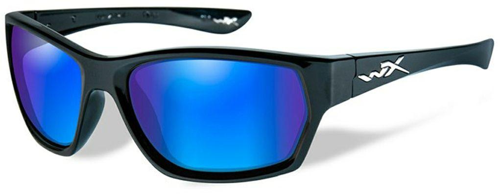 Очки солнцезащитные WileyX Moxy Polarized, для охоты, рыбалки и активного отдыха, цвет: Blue Mirror, GreenSSMOX09Если вы ищете стильные и жесткие очки - вы нашли их! Эта великолепно выглядящая комбинация глянцевой черной оправы и поляризованных зеркальных линз имеет довольно классический и одновременно ультрасовременный внешний вид. Установленные линзы поглощают отражения и снижают блики. Данная модель очков отлично подходит для активного отдыха в условиях интенсивной освещенности. Линзы данных очков изготовлены из поликарбонада особенно устойчивого к царапинам и обеспечивабщего 100% УФ защиту. ПОЛЯРИЗАЦИОННЫЙ ФИЛЬТР 8ТМ Запатентованная WileyX технология поляризации линз обеспечивает 100% поляризацию и 100% защиту от ультрафиолетовых лучей для непревзойденной четкости и контрастности изображения. ЗАЩИТА ОТ УДАРОВ НА ВЫСОКОЙ СКОРОСТИ Оправа и линзы должны выдерживать удар тяжелого снаряда весом 500 гр, падающего с высоты 127 см ПРОЧНОЕ ПОКРЫТИЕ Устойчивое к царапинам покрытие защищает линзы от механических повреждений и продлевает срок их службы. АНТИБЛИКОВОЕ ПОКРЫТИЕ Антибликовое покрытие...