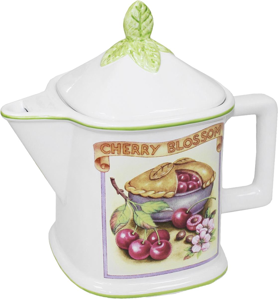 Чайник заварочный Azulejo Espanol Ceramica Сиеста, 950 мл01-001