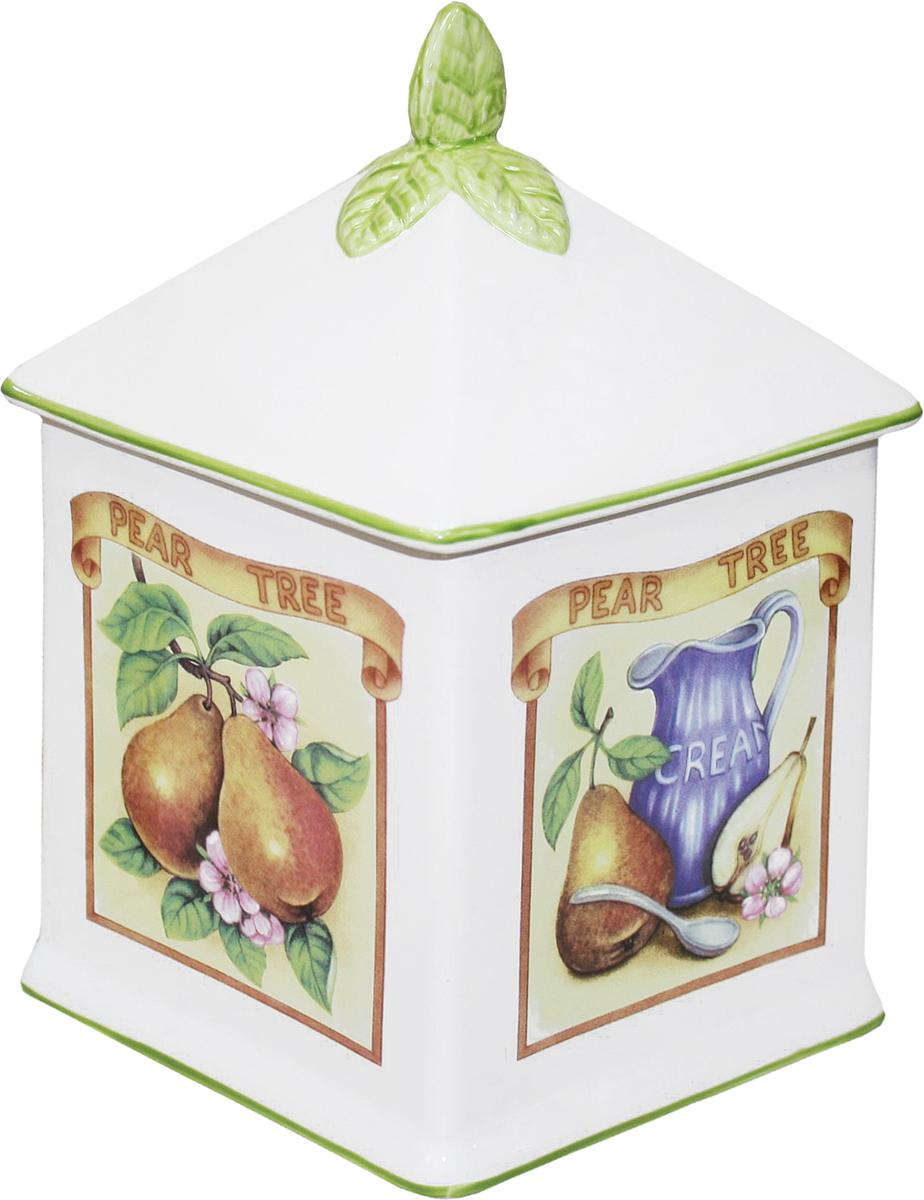 Банка для сыпучих продуктов Azulejo Espanol Ceramica Сиеста, 1,5 л01-006
