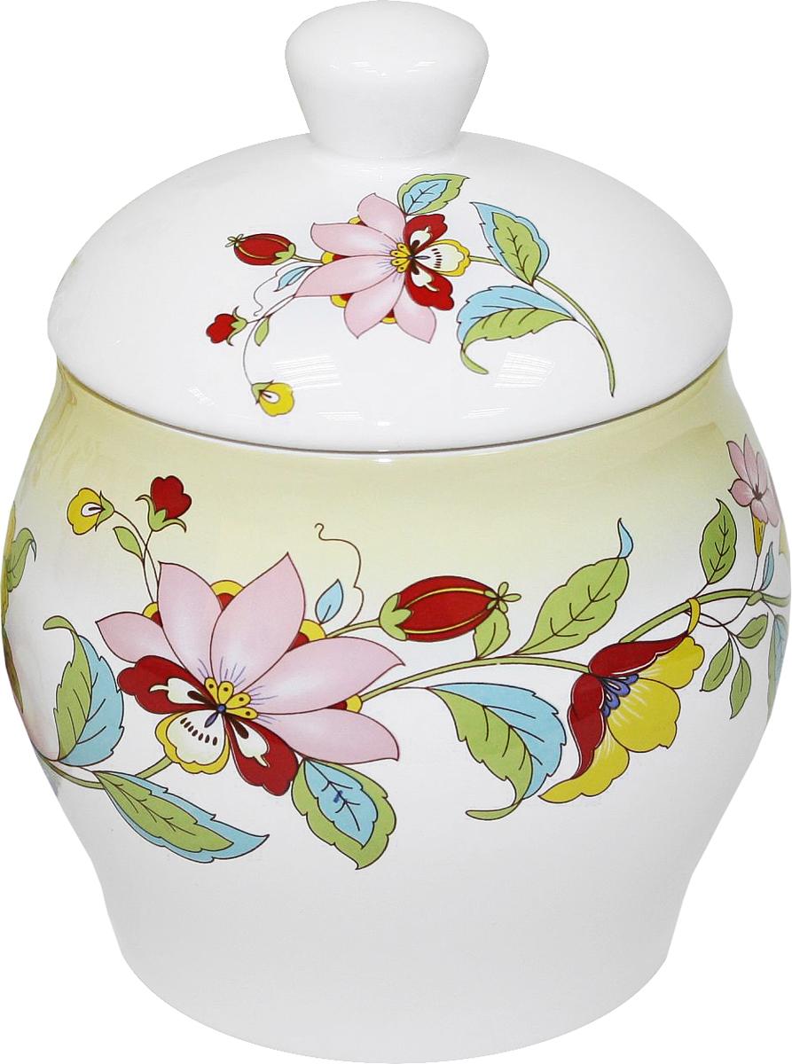 Банка для сыпучих продуктов Azulejo Espanol Ceramica Sunny Flowers, 700 мл216856