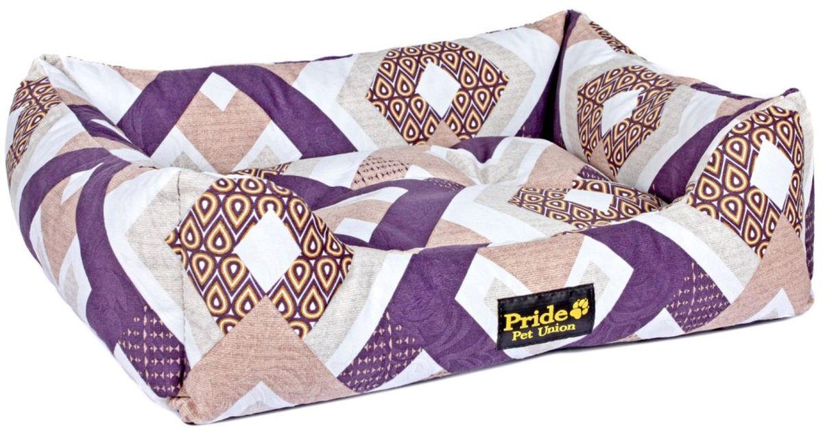 Лежак для животных Pride Этнос, 70 х 60 х 23 см10012372