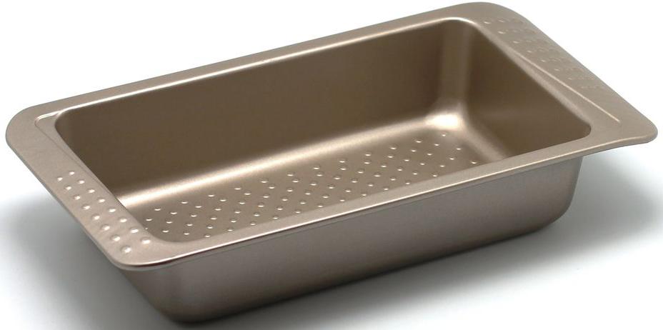 Форма для выпечки Zanussi Turin, 31,2 х 16 х 6 см, цвет: бронзовый. ZAC31112CFZAC31112CFКоллекция форм серии Turin является хорошим приобретением любой хозяйки. Товар бренда Zanussi - металлические формы - пользуется высоким спросом, его отличает высокое качество и удобный размер. Изделия выполнены из толстой углеродистой стали. Форма имеет антипригарное покрытие и утолщенные стенки, которые гарантируют равномерное пропеканиеизделия. Можно использовать в духовке до 230 градусов. Главное преимущество стальных форм - это абсолютная химическая нейтральность и экологичность.