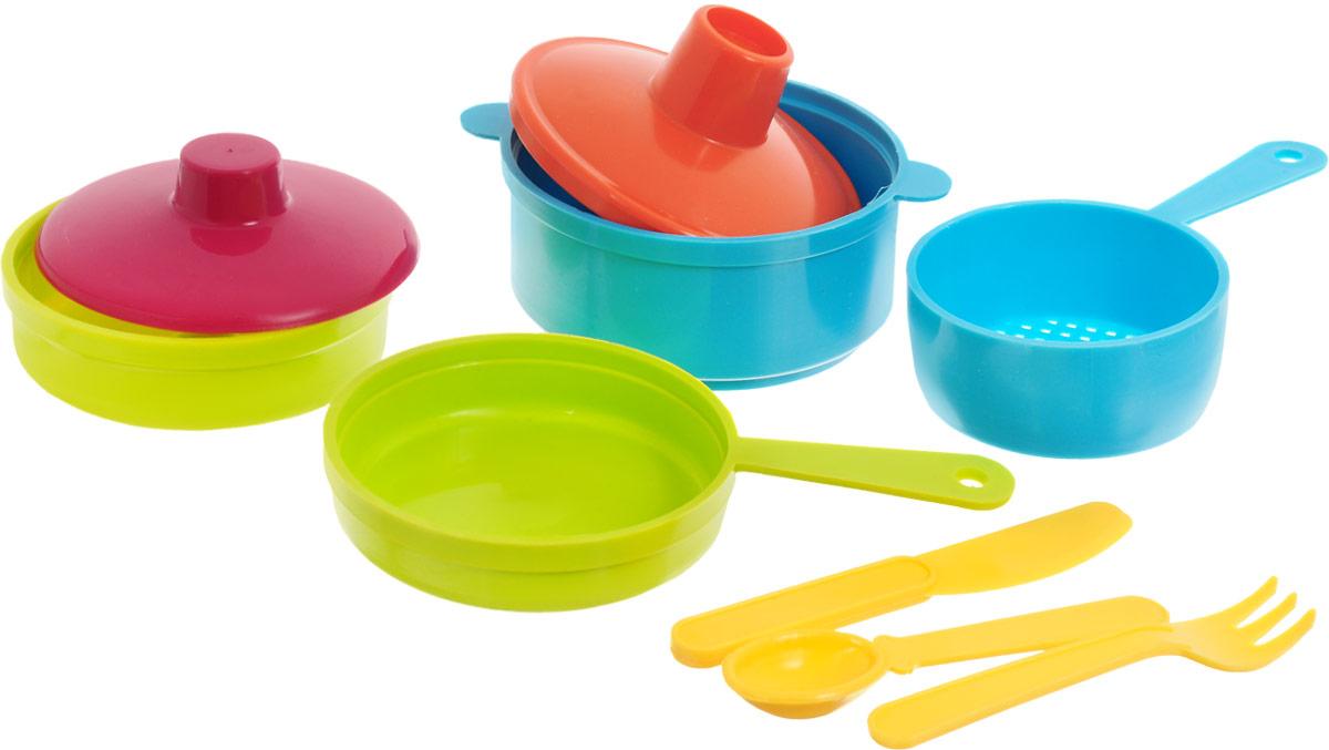 РосИгрушка Игрушечный набор посуды Рыбный день