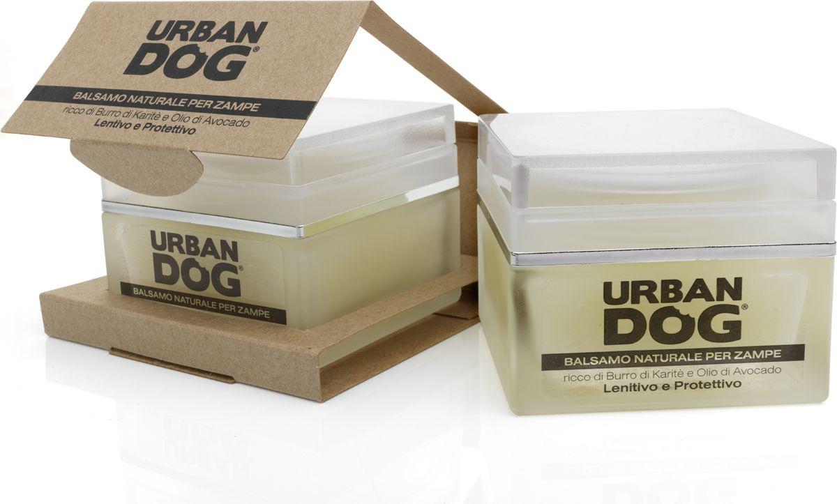 Бальзам для собак Urban Dog, для лап, смягчающее и защитное действие, с маслом карите и авокадо, 50 млUD4000BALMСмягчающий и защитный бальзам для лап. Масло карите, масло авокадо и чистейший пчелиный воск питают подушечки и защищают их от повреждений от дорожного покрытия. Отлично подходит в качестве изолирующего средства в зимний период. Витамин Е уменьшает боль от мелких ран или порезов. Бальзам не содержит петролаты, он настолько натурален и экологичен, что ваш питомец может слизывать его без проблем.