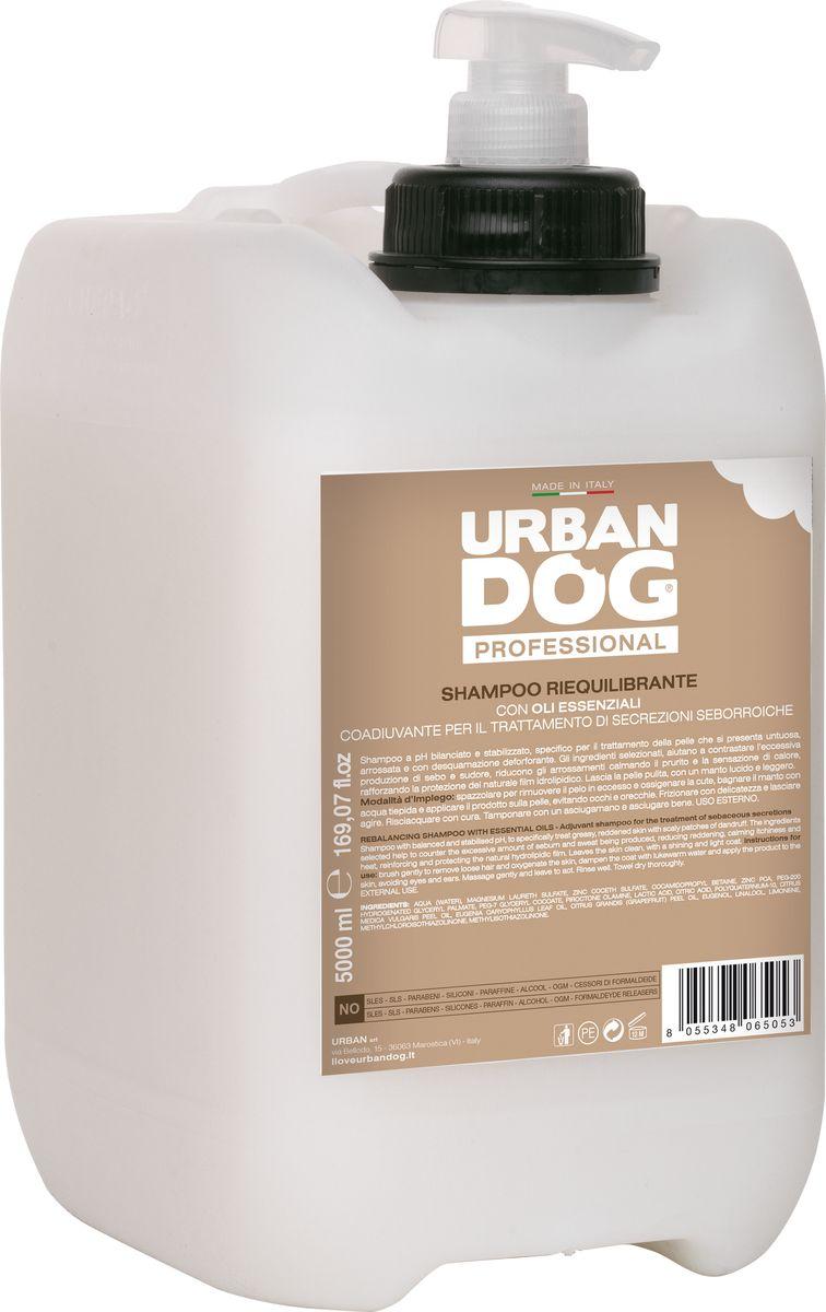 Шампунь для собак Urban Dog, от зуда, восстанавливающий кожу, 5 лUD205TSEШампунь с сбалансированным и стабилизированным pH специально разработан для обработки жирной, покрасневшей кожи с отшелушиванием перхоти. Отобранные для SEBO ШАМПУНЯ ингредиенты помогают избежать излишнего образования кожного сала и пота, способствуют уменьшению покраснений, успокаивают зуд и ощущение тепла, укрепляют защитные свойства естественной гидролипидной пленки. Оставляет кожу чистой, а шерсть блестящей и легкой.
