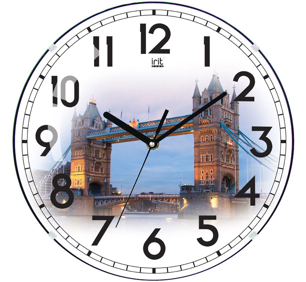 Irit IR-625 Европа настенные часы79 02214Настенные часы Irit IR-625 Европа - это элегантный и неотъемлемый элемент дизайна любого помещения. Корпус кварцевых часов выполнен из качественного пластика, который гарантирует не только их легкость, но и практичность, легкий монтаж и уход. Циферблат данной модели оформлен стильным и красивым принтом. Диаметр часов: 35 см.