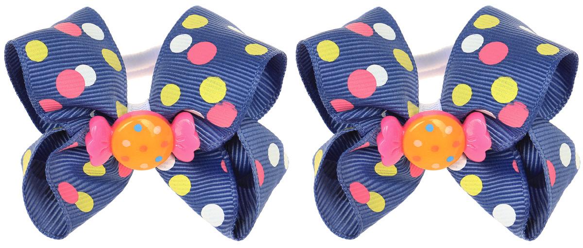 Babys Joy Резинка для волос Конфетка цвет синий 2 шт MN 163/2MN 163/2_синий/конфеткаРезинка для волос Babys Joy станет отличным дополнением к прическе вашей малышки. В набор входят две текстильные резинки, дополненные декоративным элементом в виде бантика и пластиковой конфетки. Резиночки хорошо тянутся и прекрасно держат волосы.