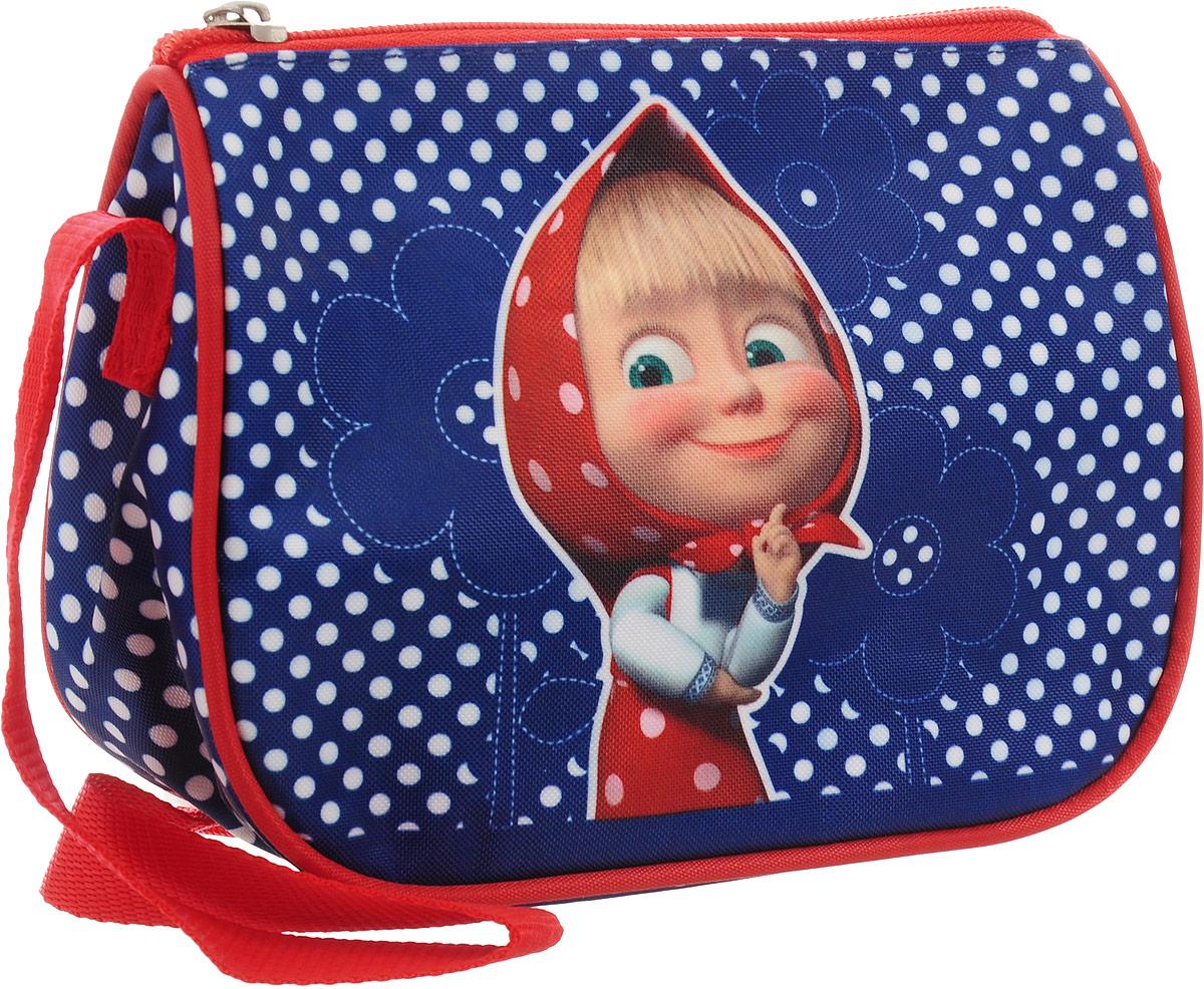 Маша и Медведь Сумка детская цвет синий красный31977Яркая и миниатюрная сумочка Маша и Медведь создана специально для вашей юной принцессы. С таким милым аксессуаром можно ходить в гости или на прогулку, а также устраивать множество увлекательных игр, всегда оставаясь в центре восхищенного внимания. Сумочка имеет одно отделение на застежке-молнии, в которое можно положить любимые игрушки или необходимые на прогулке вещи. Длину регулируемой лямки можно установить от 28 до 48 см, поэтому аксессуар подходит девочкам разного роста. Изделие декорировано яркими рисунками (сублимированной печатью), устойчивыми к истиранию и выгоранию на солнце.