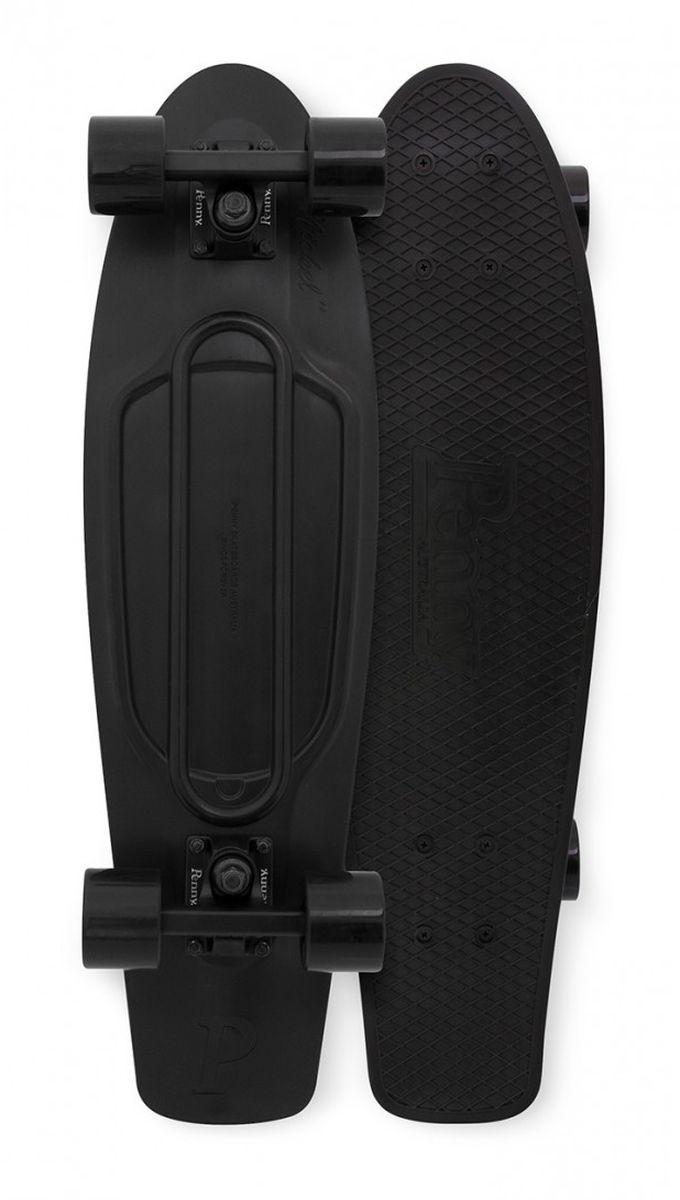 Пенни борд Penny Nickel 27, цвет: Blackout 2.0817753019810Penny продукт 12-ти летнего опыта в производстве скейтбордов Бена Маккея. В Penny он вложил все что знал о дизайне и производстве, чтобы придумать качественную, крепкую, фановую и цветную виниловую доску пенни. PENNY комплект лонгборд для детей от 4-х лет. Предназначен для активного отдыха.