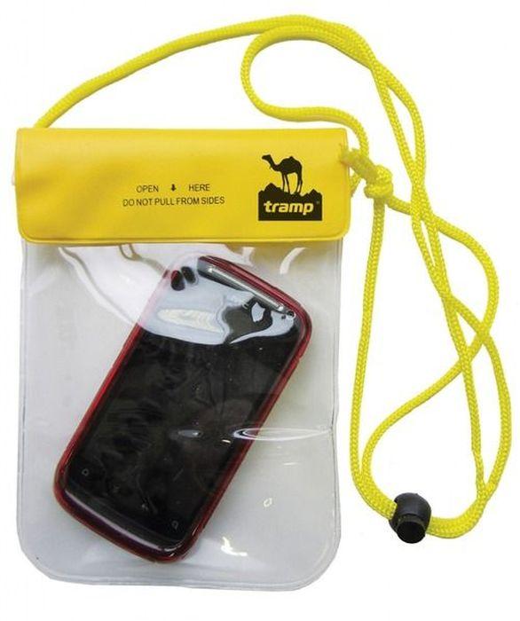 Гермомешок Tramp, цвет: желтый, 20х13 см. TRA-026TRA-026Размер: 20 х 13 см Материал: ПВХ Размер коробки: 44х 29х 29 см