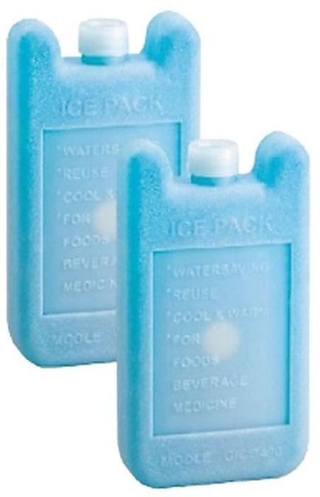 Аккумулятор холода Tramp, цвет: голубой. TRA-206TRA-206Материал: Пластик, соленой раствор Объем: 200мл/ 400мл