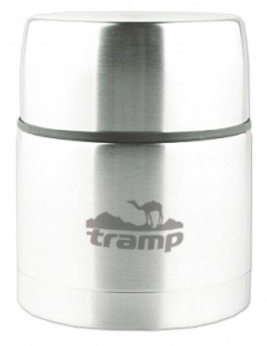 Термос с широким горлом Tramp, цвет: серый, 0,75 л. TRC-078